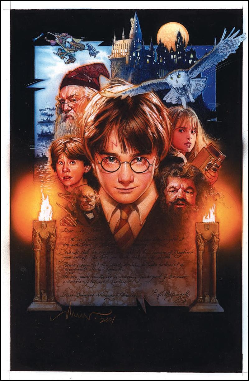 Harry Potter É A Pedra Filosofal with conheça o artista responsável pelos pôsteres mais icônicos do