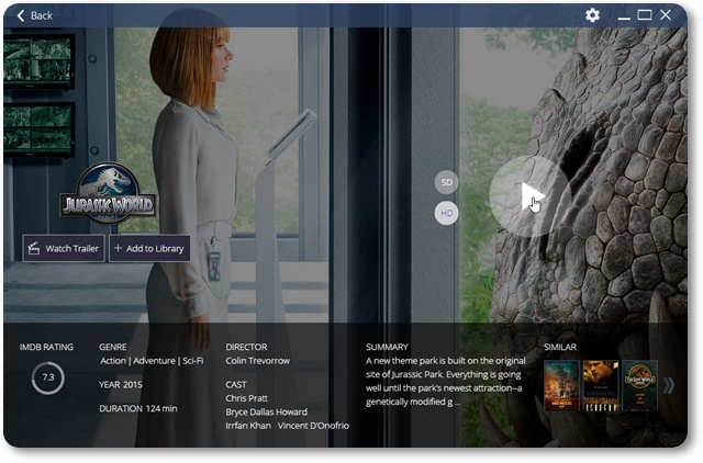 Stremio - Imagem 2 do software