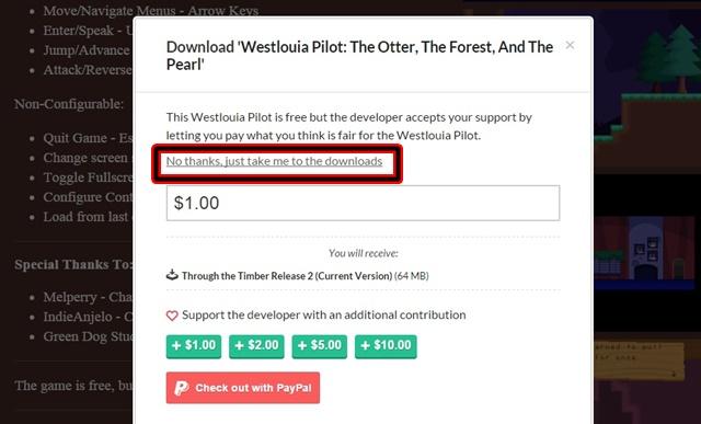 Westlouia Pilot: Through The Timber - Imagem 4 do software