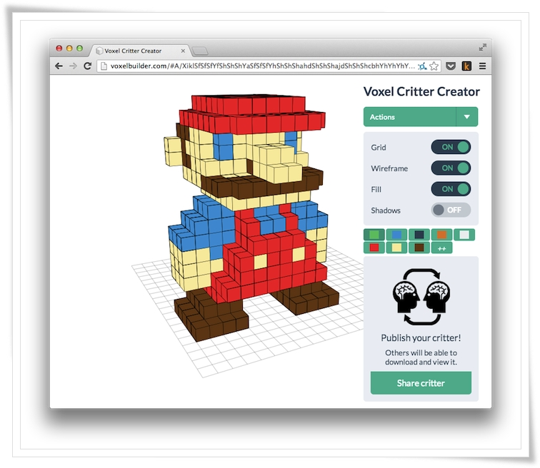 Voxel Builder - Imagem 1 do software