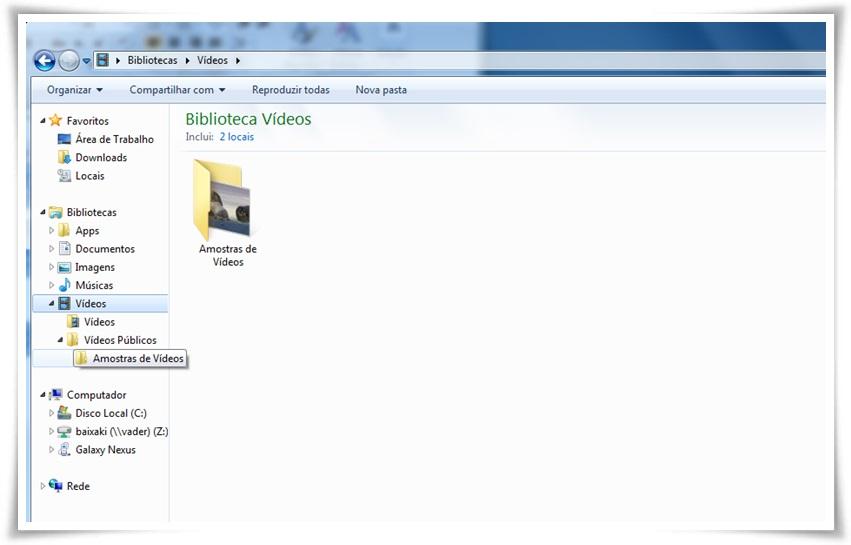 Windows Explorer Navigation Pane Configuration - Imagem 1 do software