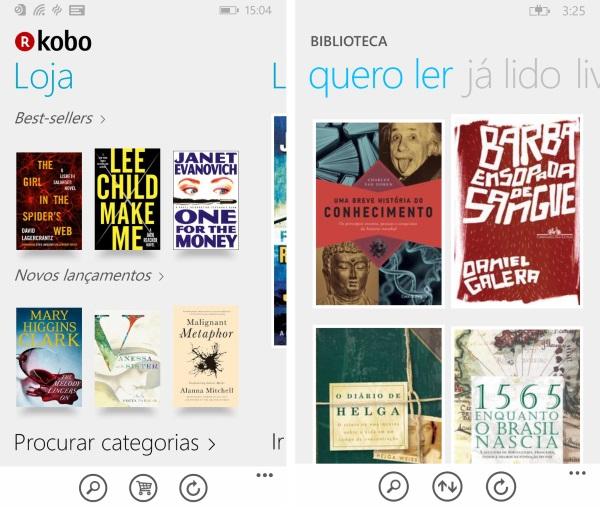 Livros da Kobo - Imagem 3 do software