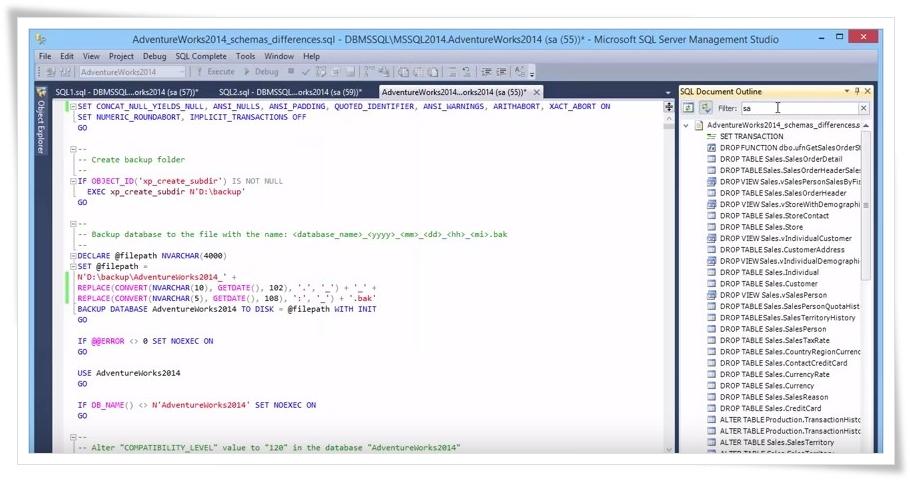 dbForge SQL Complete - Imagem 1 do software