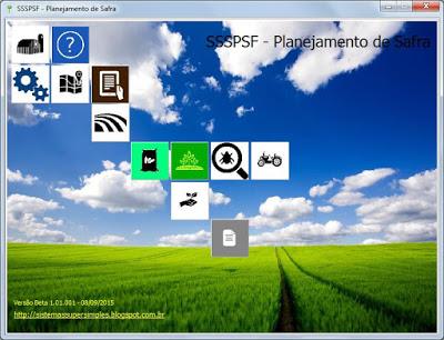 SSSPSF - Planejamento de Safra - Imagem 1 do software