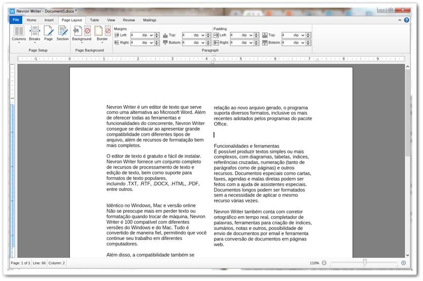 Nevron Writer - Imagem 3 do software