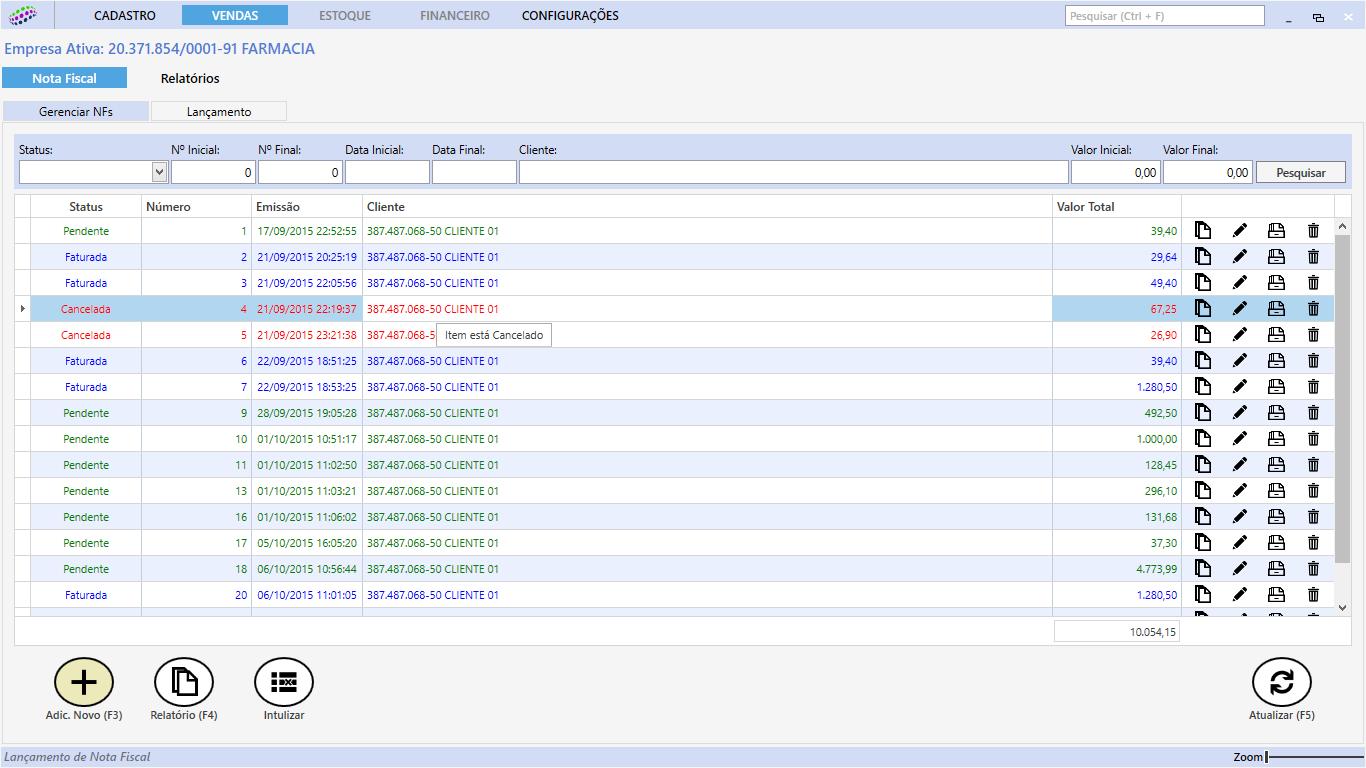 Gestão Empresarial Fácil - Imagem 1 do software