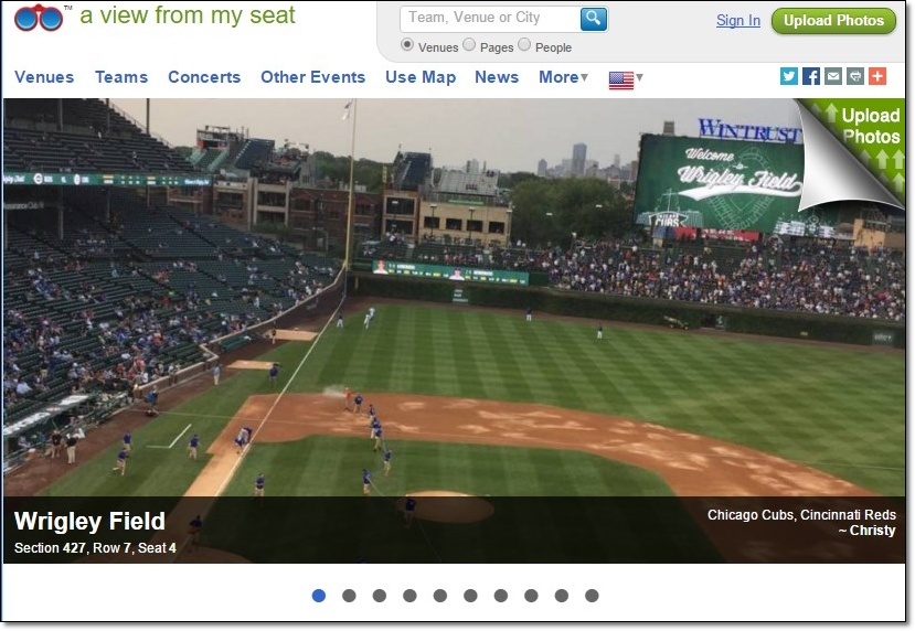A View from my Seat - Imagem 1 do software