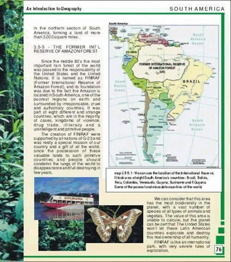 Afinal é Verdade Que Parte Da Amazônia Pertence Aos Estados