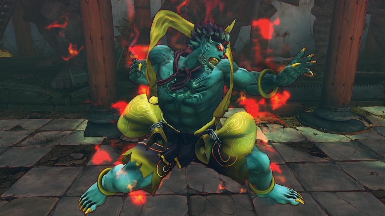 A bruxa está à solta: Capcom revela novas skins de Street Fighter IV