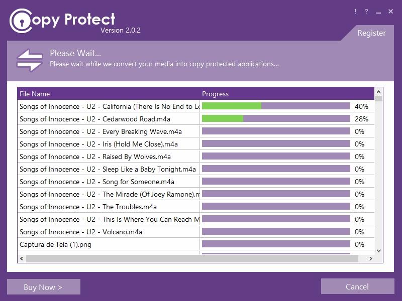 Copy Protect - Imagem 1 do software