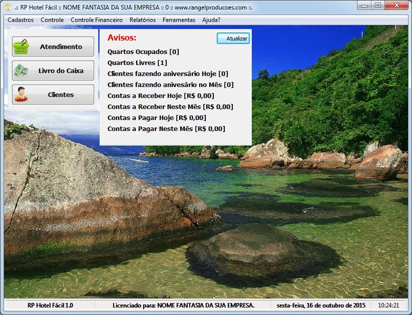 RP Hotel Fácil - Imagem 1 do software