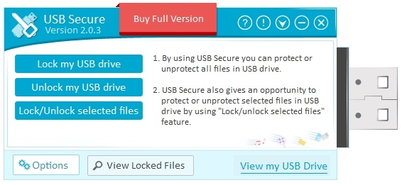 USB Secure - Imagem 1 do software