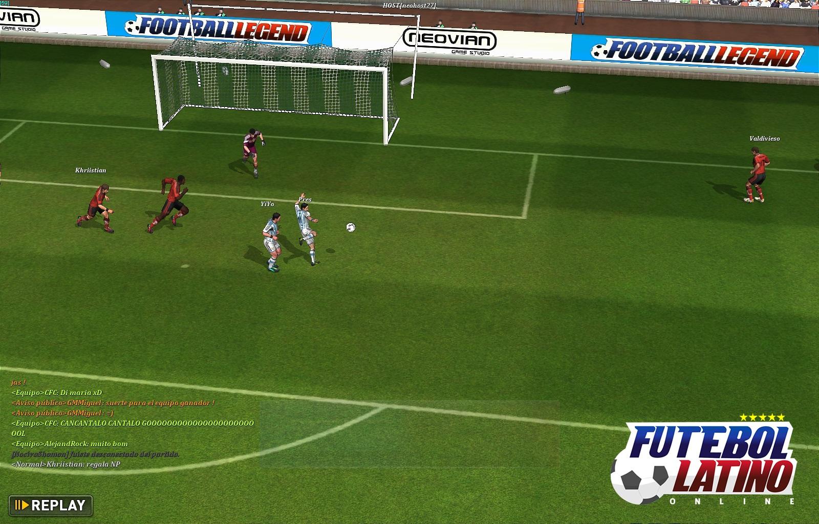 Jogar futebol online