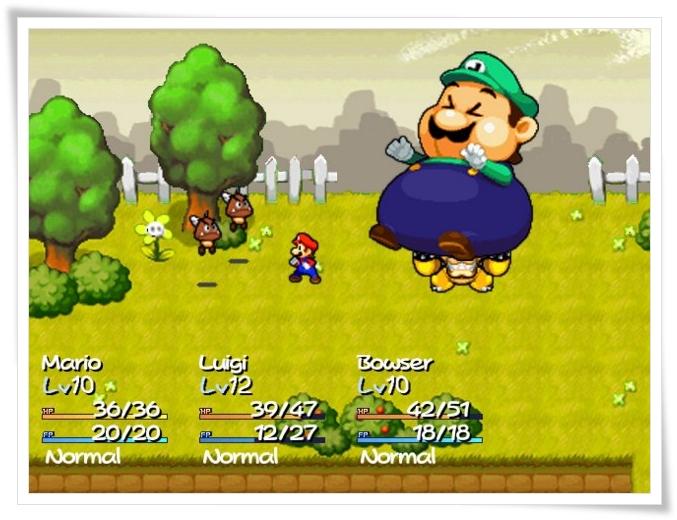 Super Mario RPG: The Starlite Worlds - Imagem 1 do software