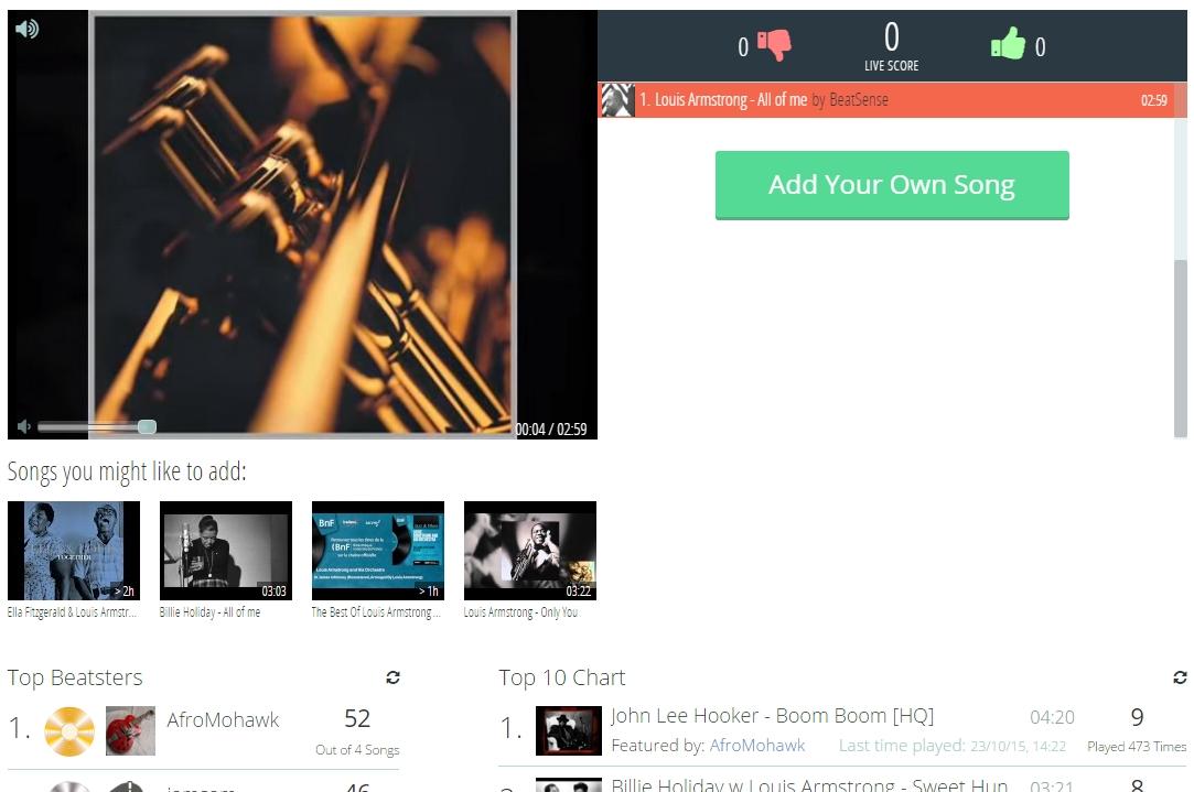BeatSense - Imagem 1 do software