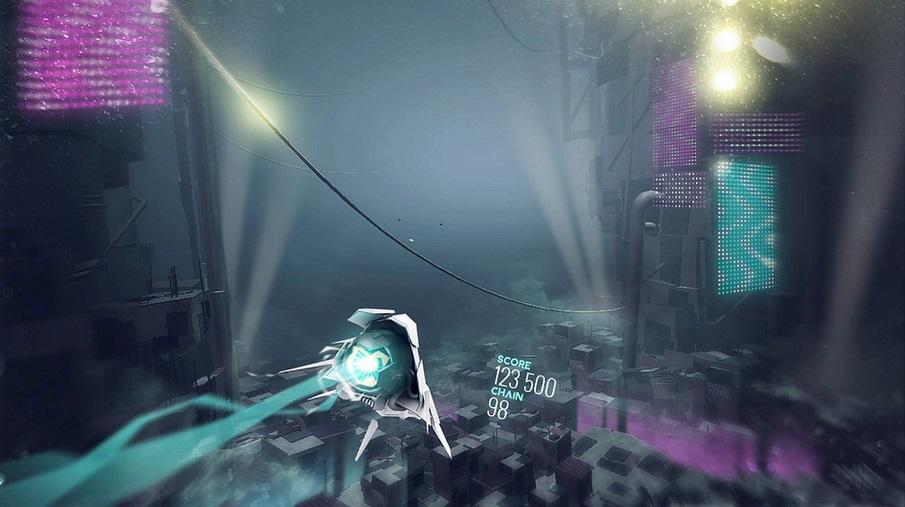 Avicii Vector: novo game do PS4 mistura naves e música eletrônica [vídeo]