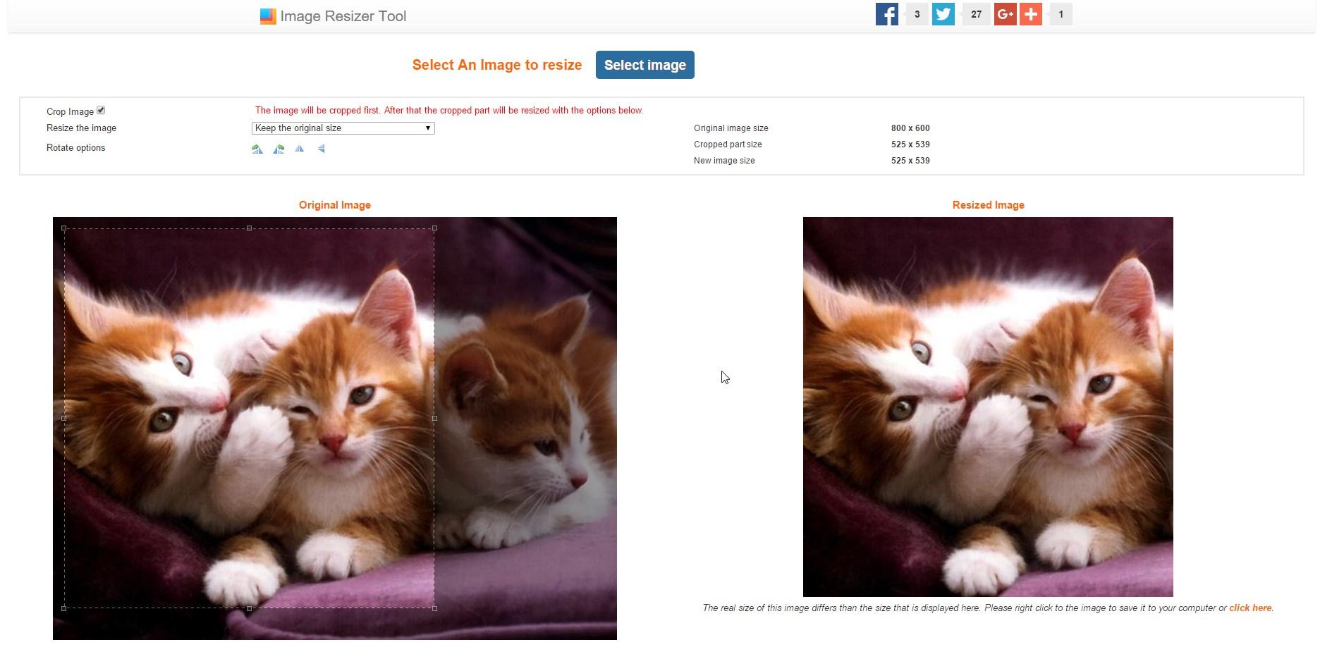 Image Resizer Tool - Imagem 1 do software