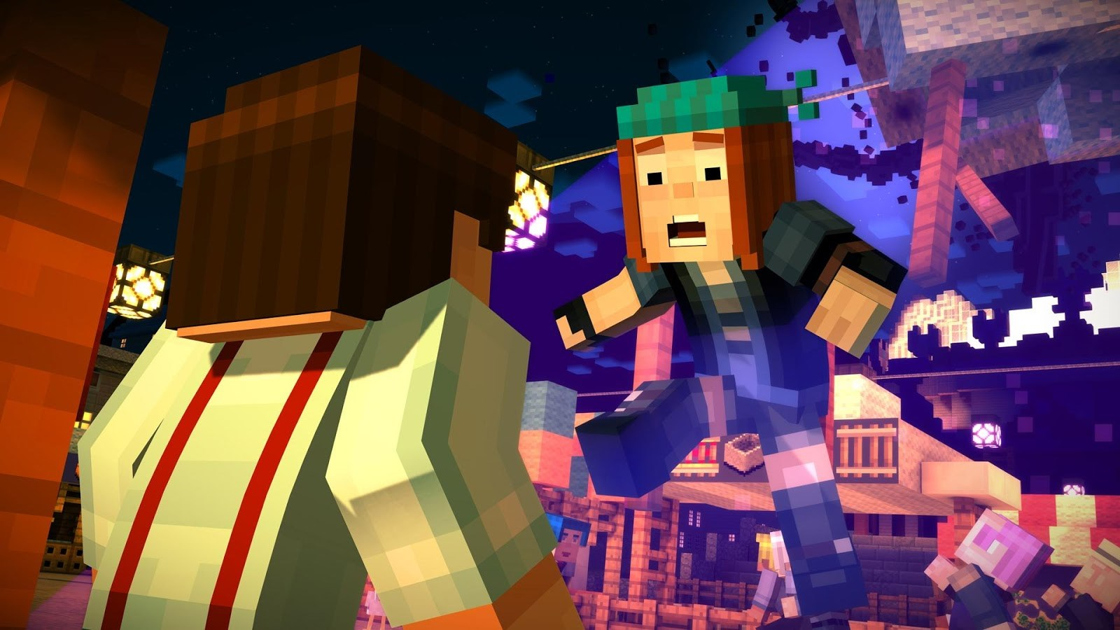 Minecraft: Story Mode - Imagem 1 do software