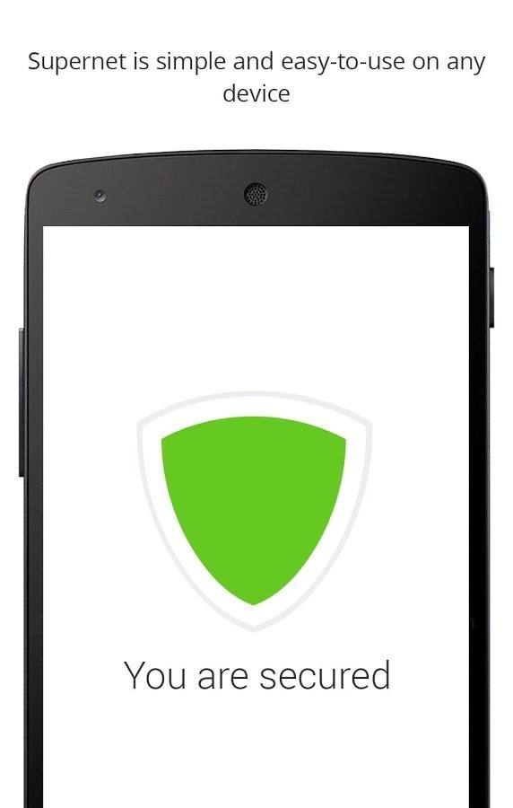 Supernet: VPN Free Fast - Imagem 1 do software