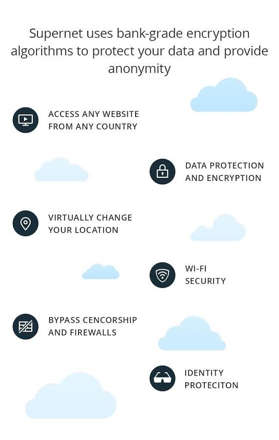 Supernet: VPN Free Fast - Imagem 2 do software