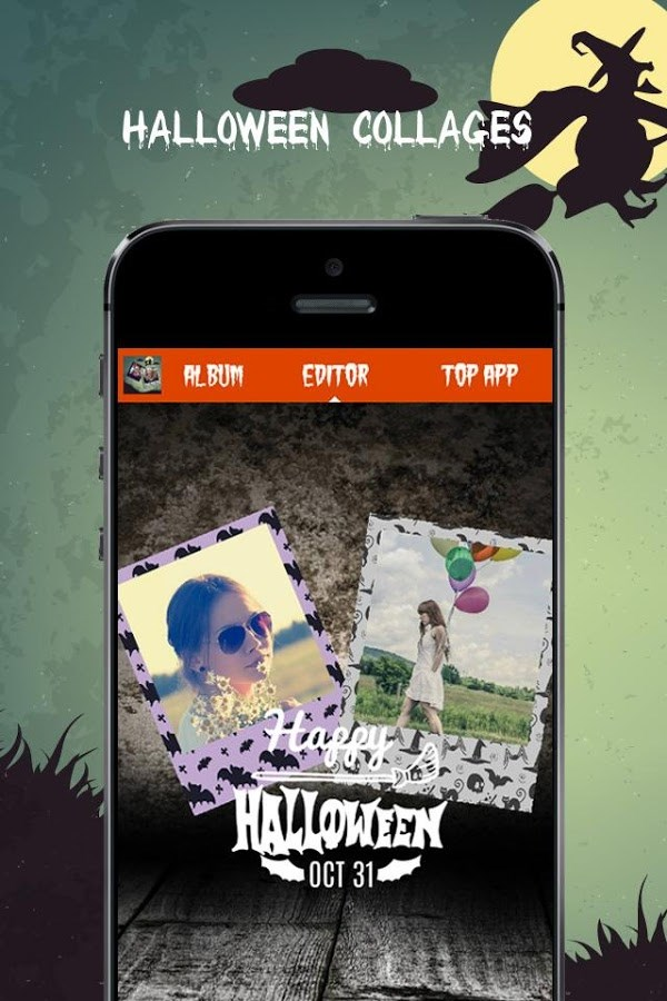 Halloween photo collage - Imagem 1 do software