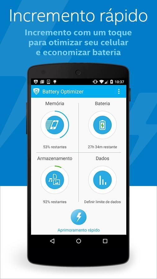 Battery Optimizer & Cleaner - Imagem 1 do software