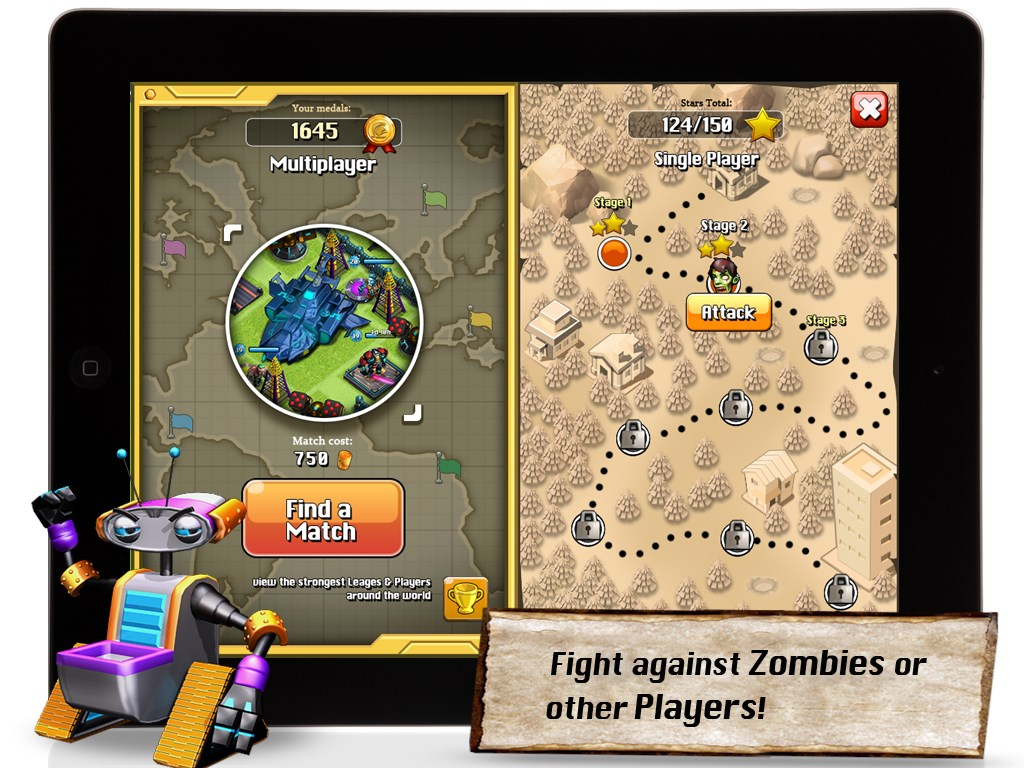 Apoc Wars: Clash of Zombies - Imagem 1 do software
