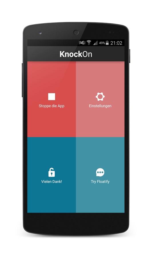 KnockOn - Tap to wake - Imagem 2 do software