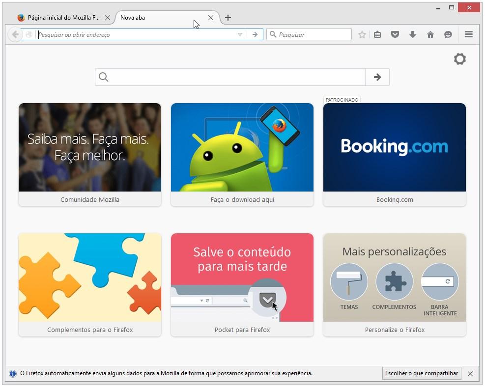 Mozilla Firefox Portable - Imagem 2 do software