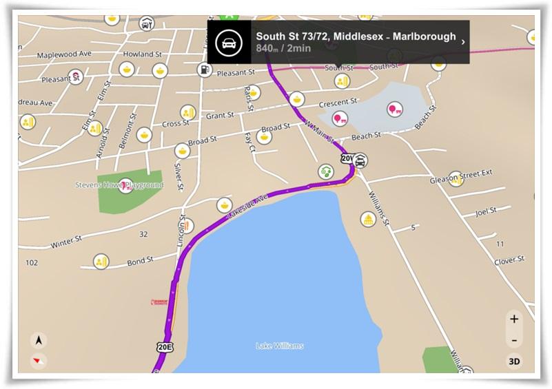 Sygic GPS Navigation - Imagem 1 do software
