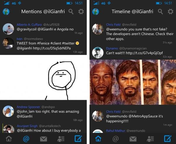 Fenice for Twitter - Imagem 1 do software