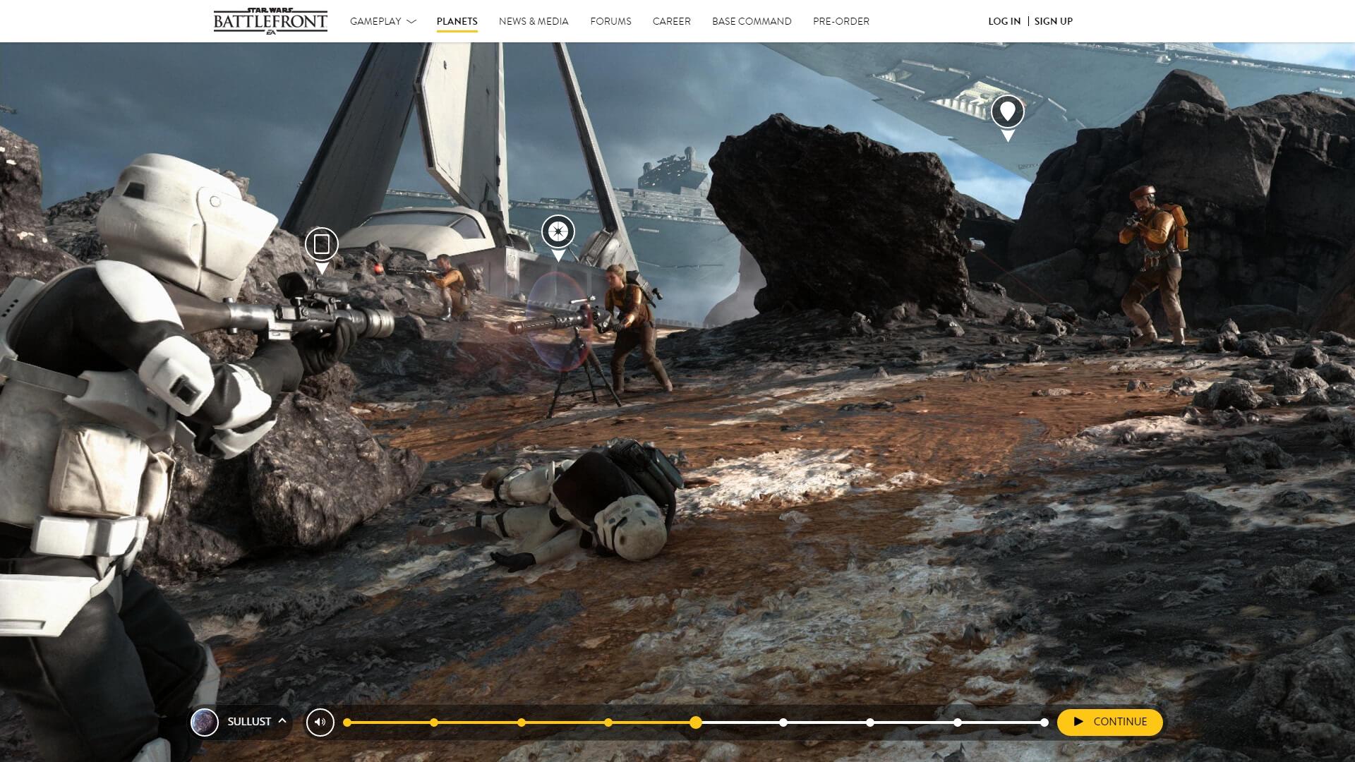 Faça um passeio virtual pelos planetas presentes em Star Wars Battlefront