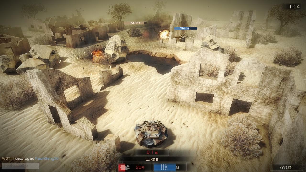 TankZone Battle - Steam - Imagem 2 do software
