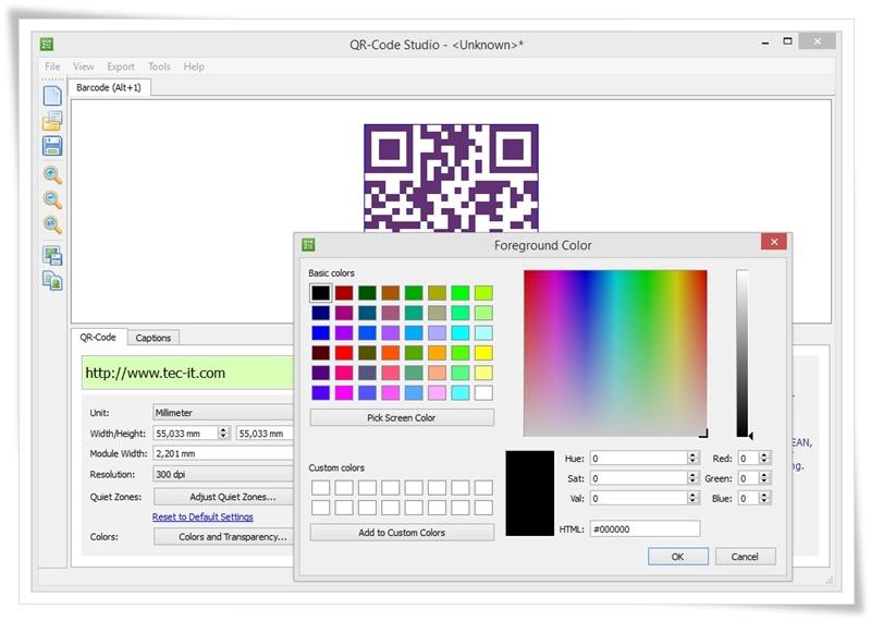 QR-Code Studio - Imagem 1 do software
