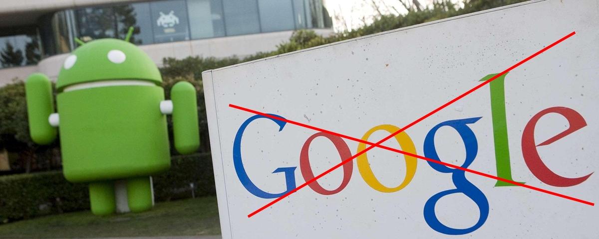 Android sem Google: 7 opções Open Source para apps da Gigante das
