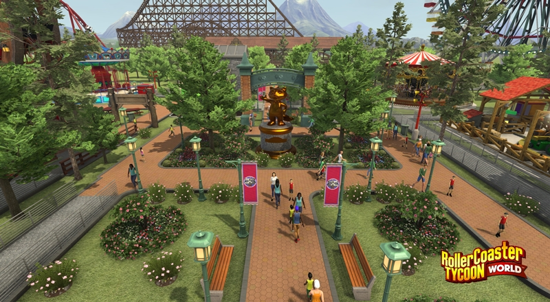 Roller coaster tycoon 3 free download for android