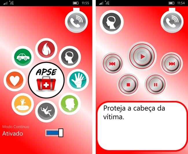 APSE – App de Primeiros Socorros Emergenciais - Imagem 1 do software