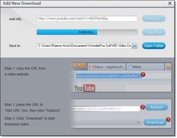 WonderFox Free HD Video Converter Factory - Imagem 3 do software