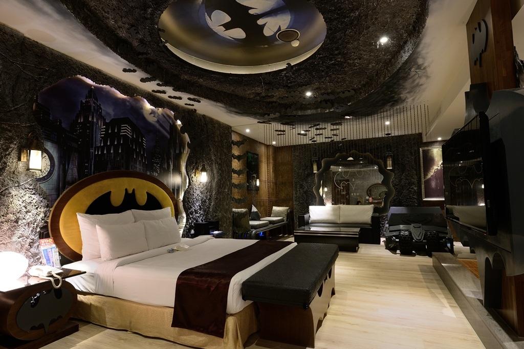Confira 10 dos mais incr veis quartos tem ticos de hot is for Hotel design paris 11
