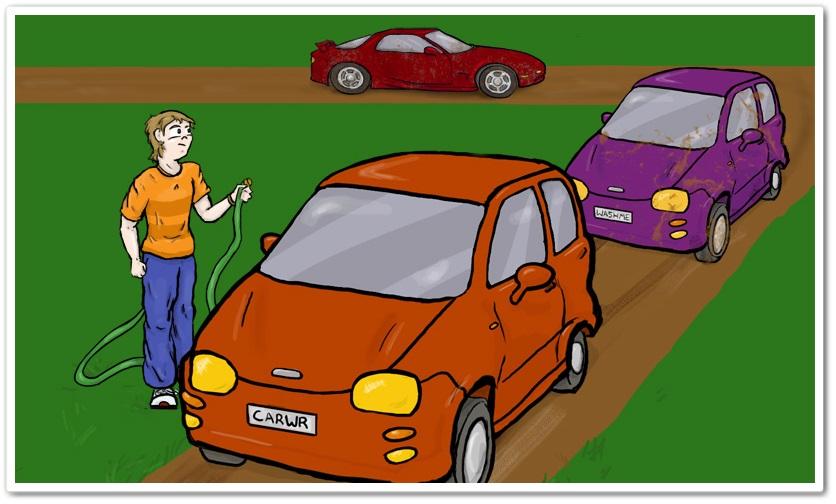 Car Washer: Summer of the Ninja - Imagem 2 do software
