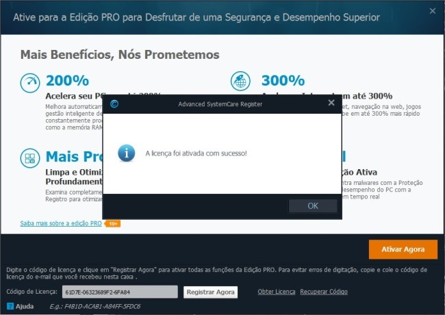 Codigo advanced systemcare