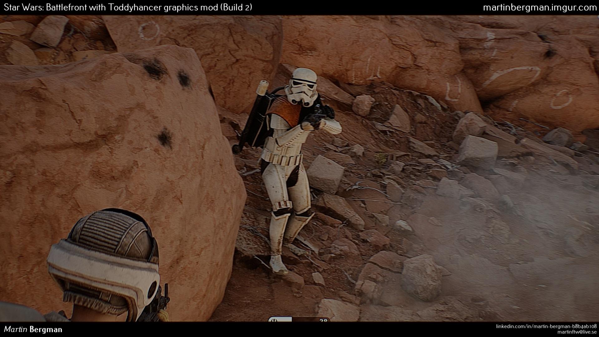 Mod deixa o visual de Star Wars Battlefront incrivelmente realístico