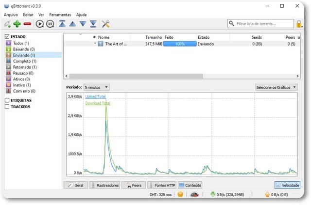 qBittorrent - Imagem 1 do software