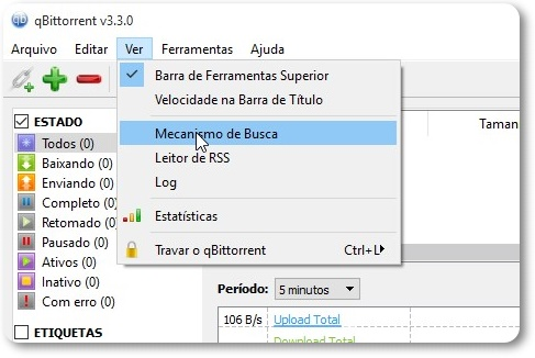 qBittorrent - Imagem 3 do software