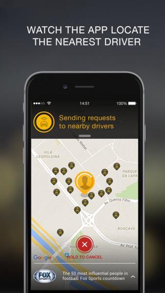 Easy Taxi - Free Taxi App - Imagem 2 do software