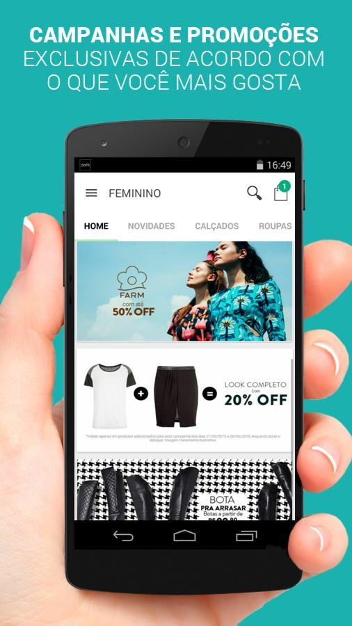 4e10d8bd Dafiti Download para Android em Português Grátis