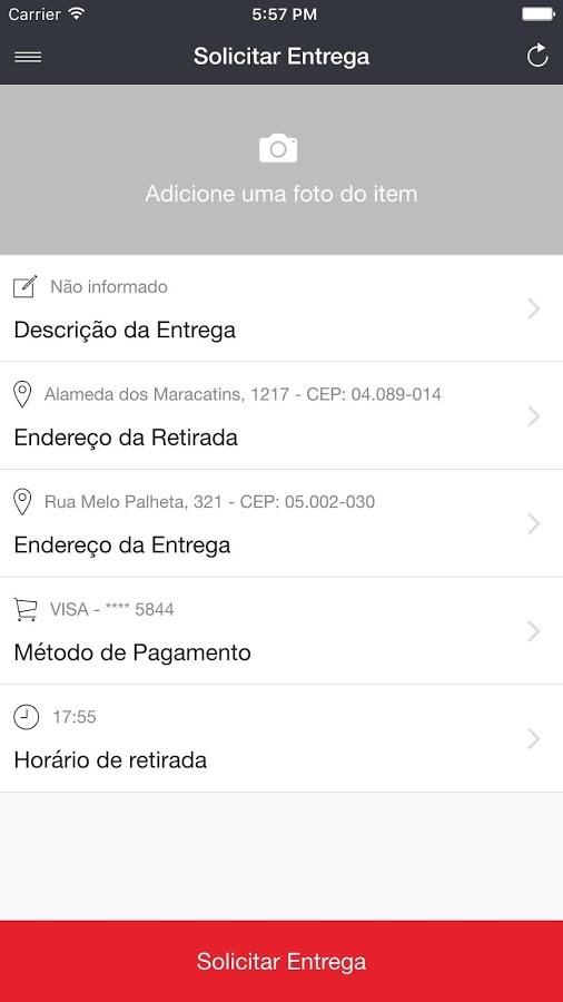 Partiu Entregas - Imagem 3 do software