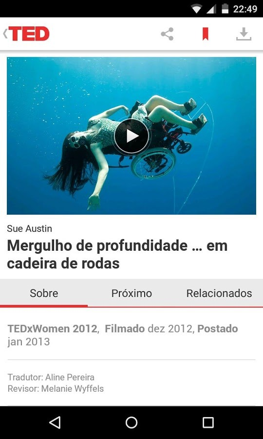 TED - Imagem 2 do software