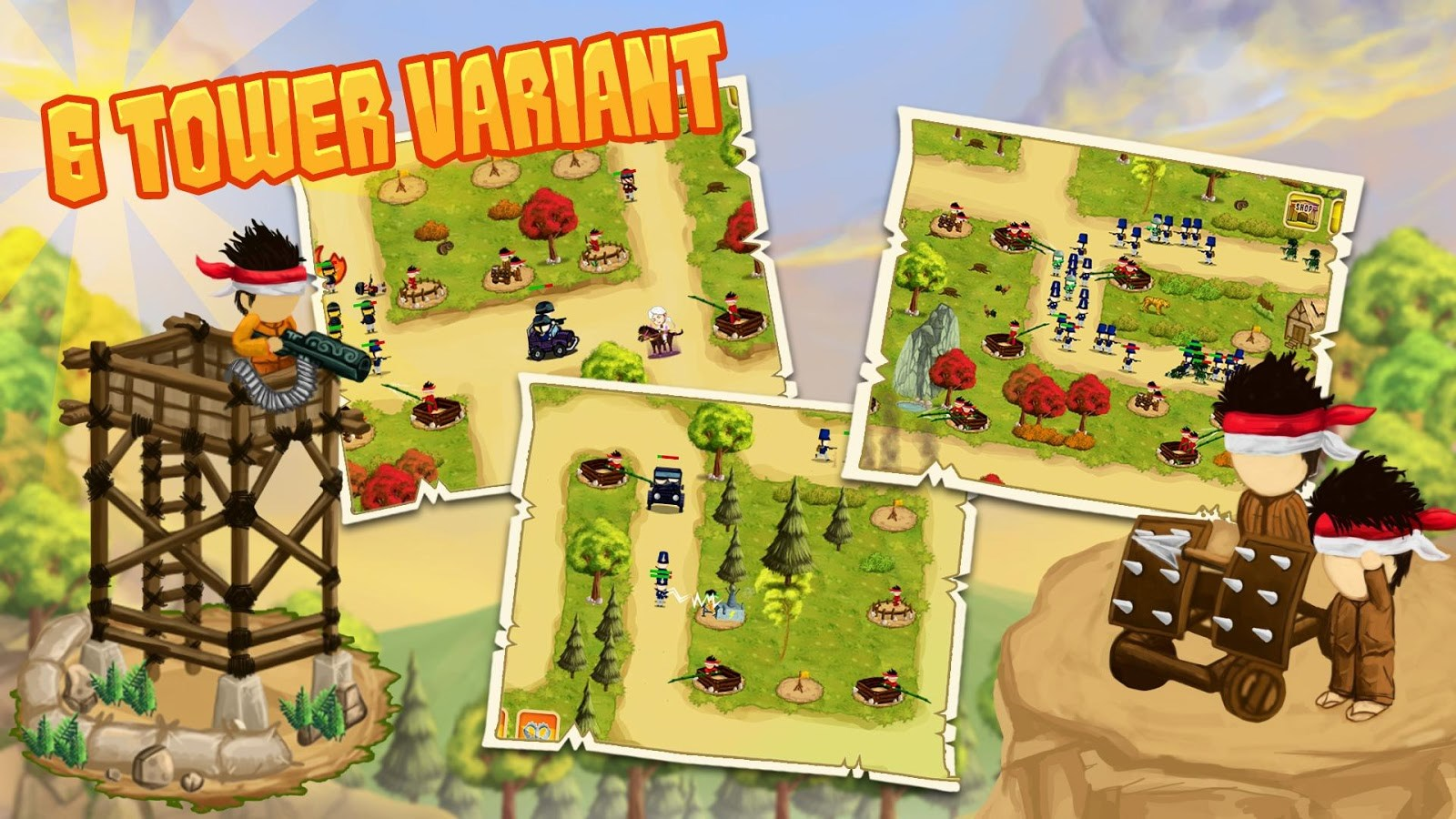 Diponegoro - Tower Defense - Imagem 1 do software
