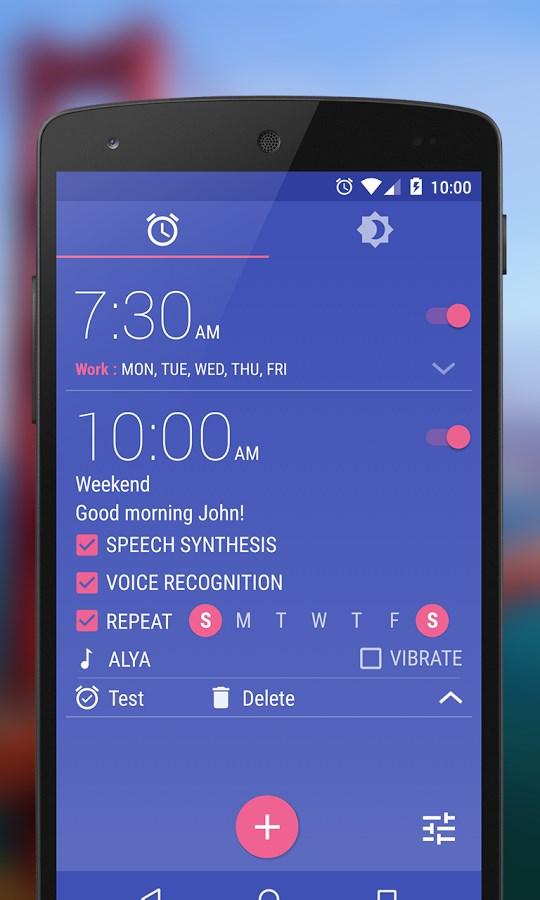 WakeVoice Despertador - Imagem 1 do software